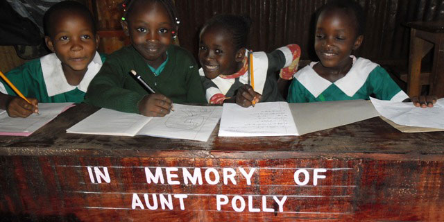 In Memory of Aunty Polly