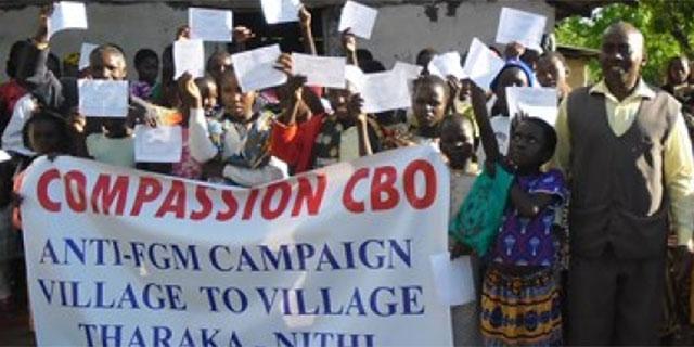 Compassion CBO awarded grant for Anti-FGM Hotlines in Kenya