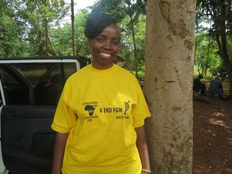 End FGM tea shirts