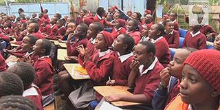 Children at an Anti-FGM seminar