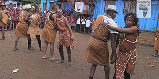 Traditional Dancers at school