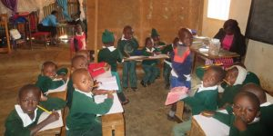 Children in Rented hall