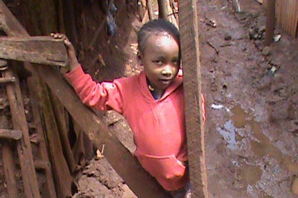 Compassion CBO Child in slum